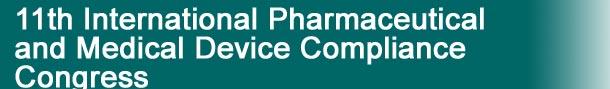 international pharmaceutical compliance congress